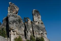 Ciudad de la roca Imagen de archivo