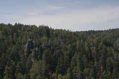 Ciudad de la roca de Adrspach Fotos de archivo