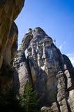 Ciudad de la roca en Adrspach Fotos de archivo