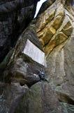 Ciudad de la roca en Adrspach Fotografía de archivo libre de regalías