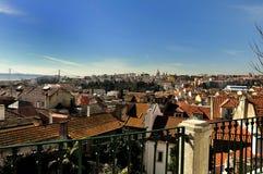Ciudad de la visión de Lisboa Fotografía de archivo libre de regalías