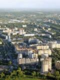 Ciudad de la visión superior de Ryazan Imágenes de archivo libres de regalías