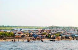 Ciudad de Lagos foto de archivo
