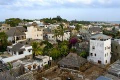 Ciudad de Lamu Imágenes de archivo libres de regalías