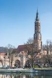 Ciudad de Landshut Imagen de archivo