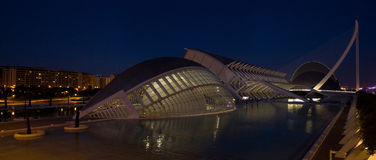 Ciudad de las artes y ciencias, Valencia Royalty Free Stock Photo