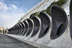 Ciudad de las Artes Y Ciencias in Valencia, Spain. The complex in Valencia is designed by the genius architect, Santiago Calatrava Royalty Free Stock Images