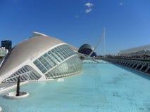 Ciudad de las artes y ciencias. Valencia, Spain comunidad Valenciana Stock Images