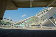 Ciudad de las Artes y de las Ciencias Imagem de Stock