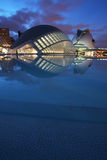 Ciudad de las artes y las ciencias. Valencia-Spain Stock Images