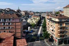 Ciudad de LAUSANNE, Suiza imagen de archivo