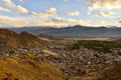 Ciudad de Leh Fotografía de archivo