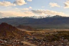 Ciudad de Leh Foto de archivo