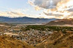 Ciudad de Leh Fotografía de archivo libre de regalías