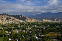 Ciudad de Leh Imágenes de archivo libres de regalías