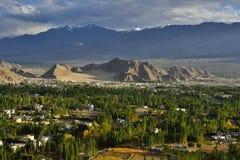 Ciudad de Leh Imagen de archivo