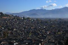Ciudad de Lijiang Imágenes de archivo libres de regalías