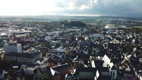 Ciudad de Limburgo, Alemania almacen de video