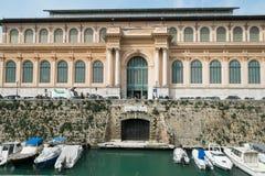 Ciudad de Livorno en Italia Fotos de archivo libres de regalías