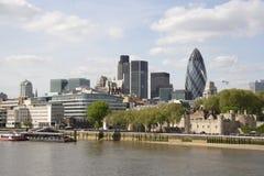 Ciudad de Londres Imagen de archivo libre de regalías