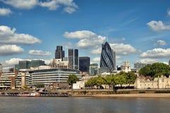 Ciudad de Londres Fotografía de archivo libre de regalías