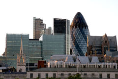 Ciudad de Londres Imágenes de archivo libres de regalías