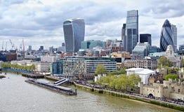 Ciudad de Londres Fotos de archivo libres de regalías