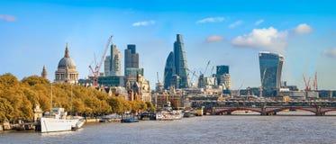 Ciudad de Londres foto de archivo libre de regalías