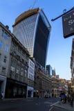 Ciudad de Londres por la tarde Fotografía de archivo