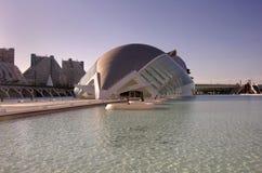 Ciudad de los artes y de las ciencias Imagen de archivo