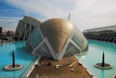 Ciudad de los artes y de las ciencias, Valencia. Fotos de archivo libres de regalías