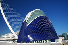 Ciudad de los artes y de las ciencias, Valencia. Fotografía de archivo