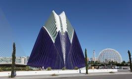 Ciudad de los artes y de las ciencias, Valencia Fotos de archivo libres de regalías