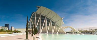 Ciudad de los artes y de las ciencias, Valencia, España fotografía de archivo libre de regalías