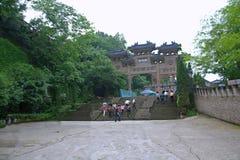 Ciudad de los fantasmas de Fengdu Fotografía de archivo