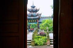 Ciudad de los fantasmas de Fengdu Imágenes de archivo libres de regalías