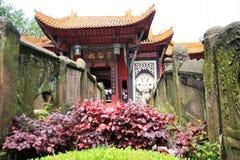 Ciudad de los fantasmas de Fengdu Imagen de archivo libre de regalías