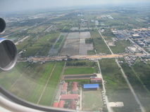 Ciudad de los megapolis de Bangkok Asia Tailandia Fotos de archivo libres de regalías