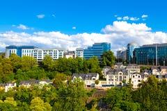 Ciudad de Luxemburgo foto de archivo libre de regalías