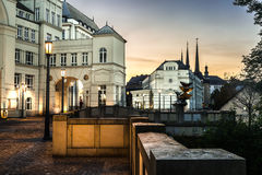 Ciudad de Luxemburgo Imagenes de archivo