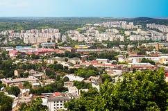 Ciudad de Lviv Fotografía de archivo libre de regalías