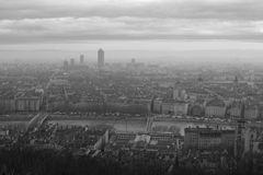 Ciudad de Lyon Foto de archivo