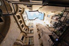 Ciudad de Lyon Imagen de archivo libre de regalías