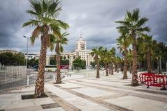 Ciudad de Málaga Foto de archivo libre de regalías