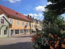 Ciudad de Mönsterås 4 fotos de archivo