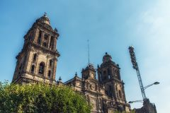 Ciudad de México, México - 15 de febrero de 2018: El Cathe metropolitano imágenes de archivo libres de regalías