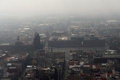 Ciudad de México Zocalo foto de archivo