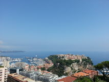 Ciudad de Mónaco Fotos de archivo libres de regalías