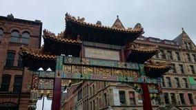 Ciudad de Manchester China Imagen de archivo libre de regalías