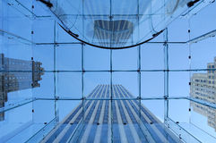 Ciudad de Manhattan Imagen de archivo libre de regalías